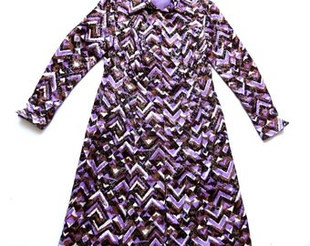 Vintage 60's / 70's Dress UK Size 14