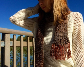 Shades of Brown Scarf