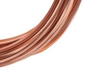 Square Copper Wire ( Dead Soft ) Choose 14 Ga,16 Ga, 18 Ga, 20 Ga, Jewelry , craft , Hobby , Wire