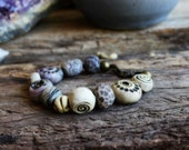 Forgiveness - Clay Medicine Woman Bracelet - Sacred Jewelry. See Listing for full Description