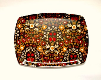 Vintage Floral Thetford Serving Tray