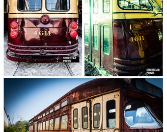 Toronto TTC vintage streetcar photography, lots of photos to choose from!