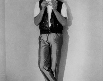 Robert Plant (Led Zep) Publicity Photo 8 by 10 inches Black & White