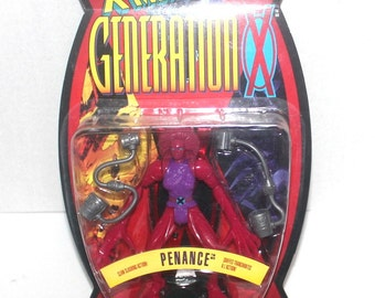 X-Men: Generation X, Penance Action Figure, Marvel Comics, 1996 Toy Biz, Antique Alchemy