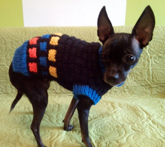 Small Dog Sweater-Chihuahua sweater-Pet Sweater-Dog Costume