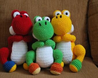 Crochet Yoshi PDF Pattern
