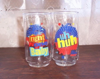 Clearance sale Retro Diet Pepsi You Got The Right One Baby glasses tumblers