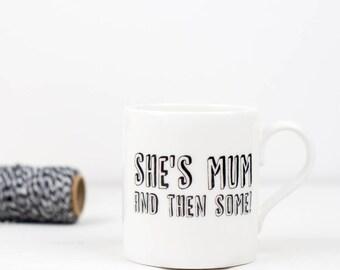 Mug for Mum - Birthday Gift for Mum - Tea Mug Funny - Bone China Mug - Mug with Saying - Birthday Mug for Her - Mothers Day Mug
