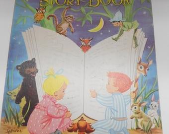 Vintage Children's Best Story Book, Saalfield