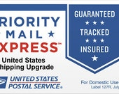 USPS US Flat Rate Express Shipping Upgrade - United States Customers only