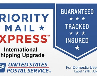 USPS International Flat Rate Express Shipping Upgrade - International Customers