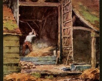 English Country Barn - Rural England Farm - English Countryside - English Country Art Prints