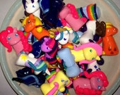 My Little Pony Miniature Clay Phone Charms / Zipper Pulls