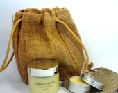 Perfume Solid - Mini body butter Organic Orange Blend Essential Oils. All Skin Types