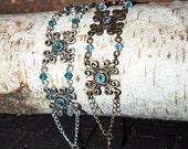 FLORENCE bracelet, wedding bracelet, medieval jewelry, for ladies antique silver