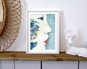"Art print ""Om"" (limited edition)"