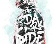 Respect the Dark Side StarWars Inspired Vader Digital Art museum quality giclée fine art print
