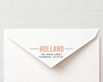 DIY Custom Printable Return Address Labels- Design 2