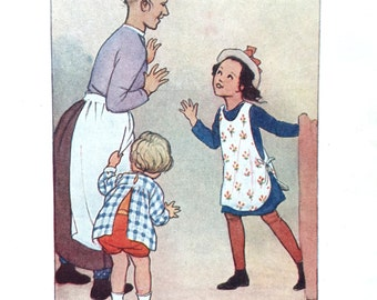 1930s AMELIARANNE WELCOME HOME Susan B. Pearse Print