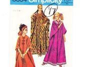 Caftan Sewing Pattern, One Size, Uncut, Simplicity 8354, Caftan Dress, Beach Caftan, Boho Caftan