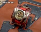 Men's steampunk watch 'Pulse of Eternity'
