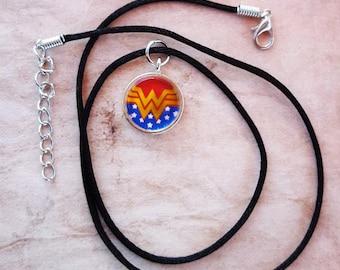 Wonder Woman Necklace- Wonder Woman symbol