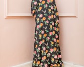 NEW SS16 Maxi Dress, Floral Maxi dress, Spring Summer dress, Abaya, Plus size dress, Elegant dress, Plus size maxi dress, Party dress