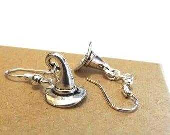 Witch Earrings, Witch Hat Earrings, Wicked Earrings, Wicked Jewellery, Witch Jewellery, Halloween Earrings