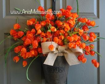 summer wreath fall wreaths for front door wreaths door decorations Thanksgiving outdoor wreath birthday gift
