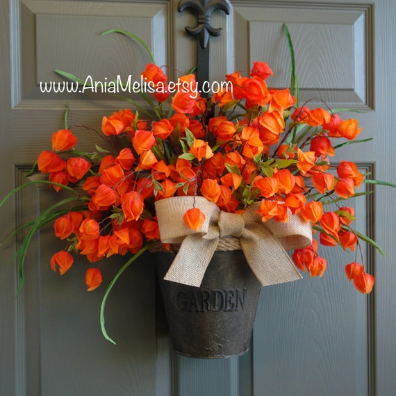Summer Wreath Fall Wreaths For Front Door Wreaths Door