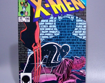 Vintage 1985 X-Men No. 196 Wolverine Issue