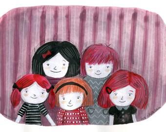 Kids - Original drawing