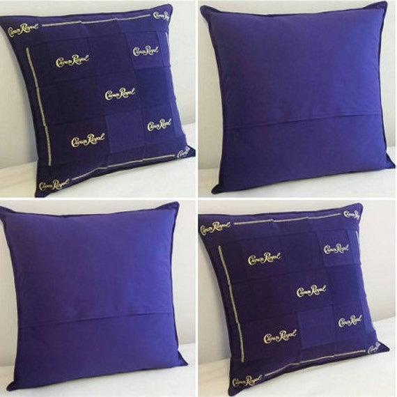 Crown Royal Throw Pillows Made From Genuine Crown Royal Bags : crown royal bag quilt - Adamdwight.com