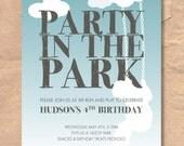 Printable Park Birthday I...