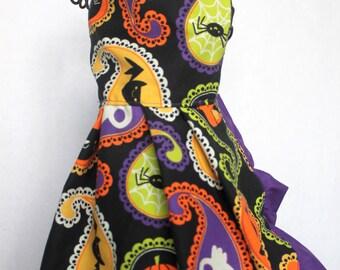 Vintage Halloween Fabric Dress