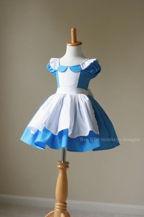 Alice au pays des merveilles robe dalice alice au pays - Deguisement alice au pays des merveilles fait maison ...