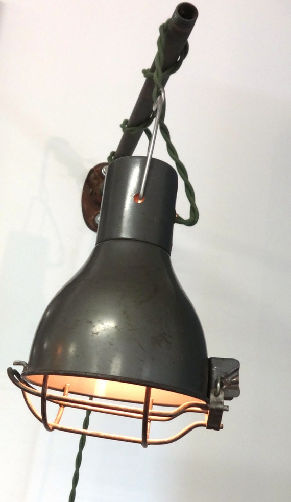 Industrial Caged Light