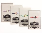 Anchor Bracelet, Nautical Anchor Friendship Bracelet, Wish Bracelet