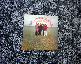 Vanity Fare - Early In The Morning - Vintage Vinyl LP Record Album. 1970 Page One Records First Pressing. Psychedelic Pop