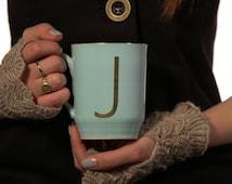 Large  Coffee mug ,Initial   Mug, Tea mug, ceramic mug, coffee lovers  ,Personalized mug ,Custom Mug , Monogram Mug ,his and her mug