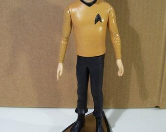 "Vintage Star Trek Captain Kirk 10 1/2"" Vinyl Figure, 1991, Hamilton"