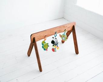 Baby Gym - Wooden Toy - Modern Nursery - Montessori Baby