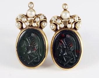 YSL Necklace YSL Jewelry Vintage Yves Saint by CherryOrchardAttic