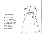 Antebellum Era Costume Work Dress Pattern Size 12 14 16 Mid 19th Century Period Impressions 453 Sewing Pattern Uncut