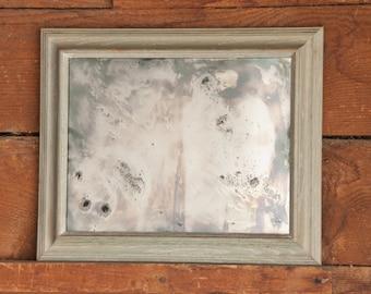 Hand Silvered Glass Mirror, Wall Decor, Interior Design Mirror