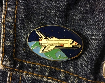 Vintage Space Shuttle Lapel or Hat Pin