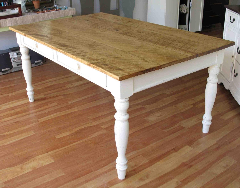 Farmhouse Tables Custom Dining Tables Reclaimed by ThePaintedLdy