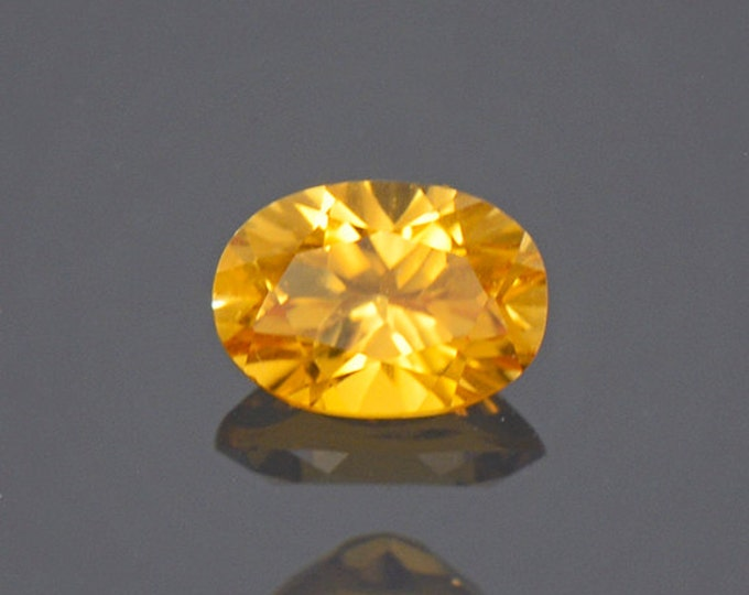 UPRISING SALE! Bright Yellow Sunset Tourmaline Gemstone from Tanzania 0.63 cts.