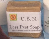 Less Pest Soap - glycerin 4 oz bar, Bug Repellent,Pet Shampoo, Pet Wash