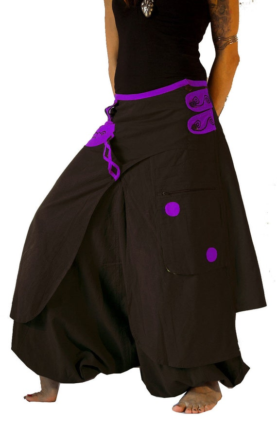 Women Harem Pants Genie Aladdin Causal Gypsy Dance Pants Trousers Baggy Colourful Bloomers Palazzo Pants US $ / piece.